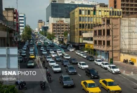 ترافیک نیمه سنگین درمحدوده آزادراه کرج-تهران