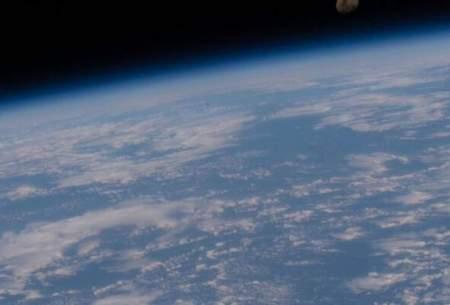 زمین و ماه در یک قاب خیره کننده/تصاویر