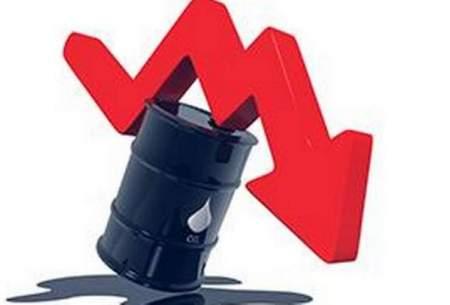 یک دلار دیگر از قیمت نفت افتاد