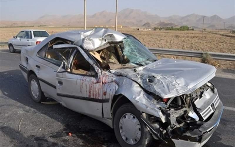 تصادف مرگبار در محور ایرانشهر - سرباز