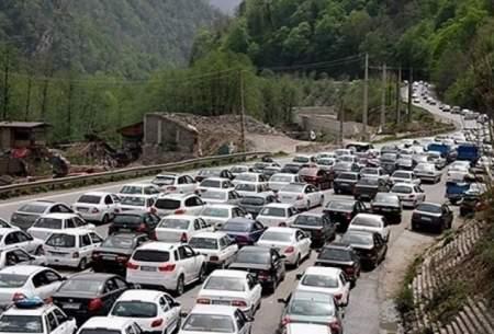 ترافیک نیمه سنگین در جاده های شمالی
