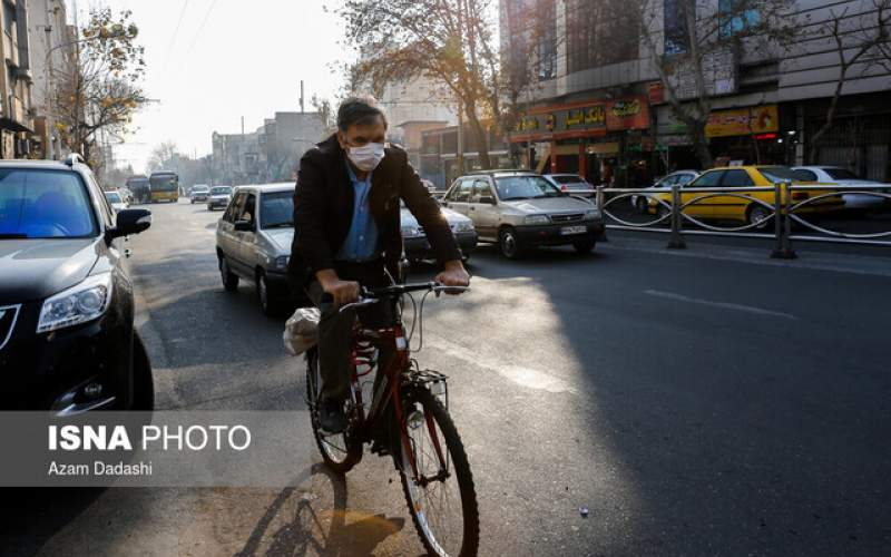 آخرین وضعیت کیفیت هوای تهران