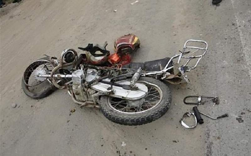 مرگ ۲ نفر در تصادف موتورسیکلت با خاور