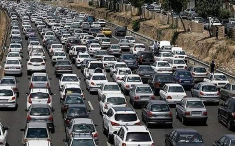 ترافیک نیمه سنگین در هراز و فیروزکوه