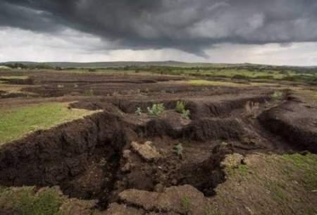 تبعاتی که فرسایش خاک برجای میگذارد