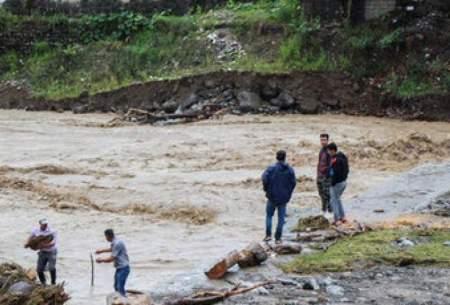 خسارت سیل در غرب گیلان/تصاویر