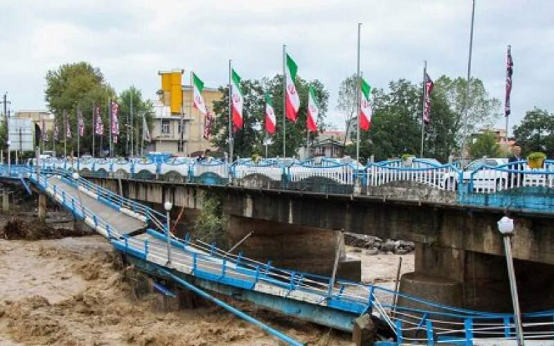 پل اصلی تالش در حال تخریب است