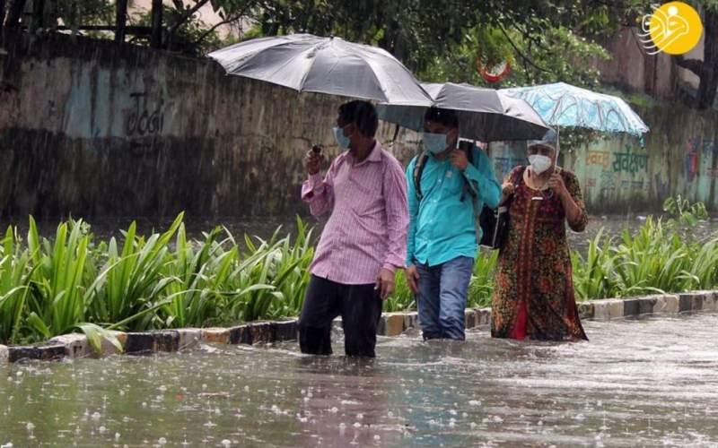 وقوع بارندگیهای شدید سیلآسا در بمبئی