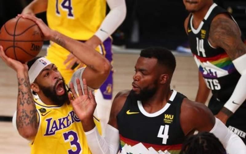 لیکرز دریک قدمی قهرمانی کنفرانس غرب NBA