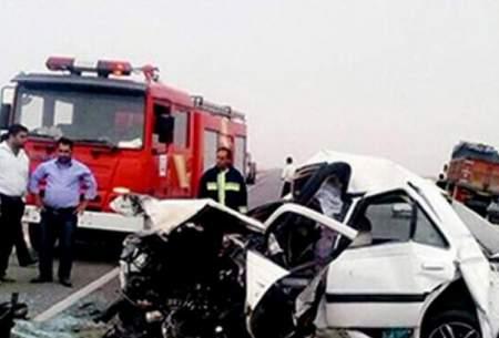 4 کشته و مجروح در تصادف جاده فسا - داراب