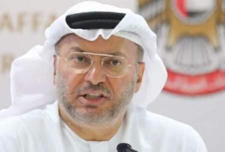 امارات: اقدامات تهاجمی حكومت ایران در منطقه باعث تغییر رویکرد کشورهای عرب به اسرائیل شد