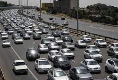 ترافیک سنگین در محور تهران - کرج