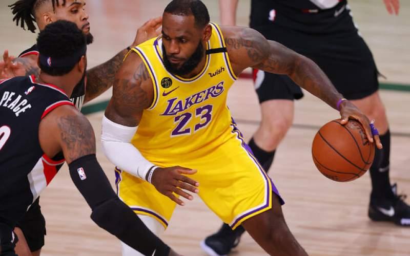 لیکرز نخستین فینالیست NBA