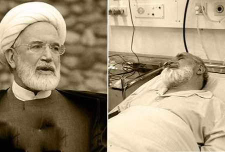 حسین کروبی: پدرم به ICU منتقل شد