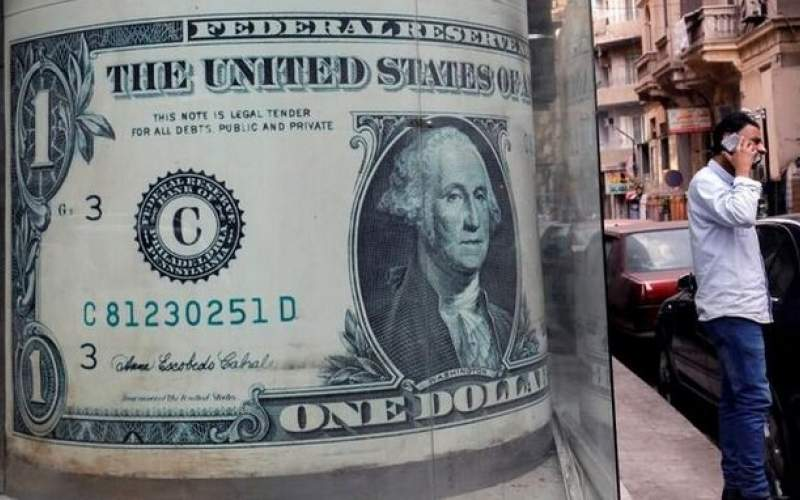 قیمت دلار جهانی پایین آمد