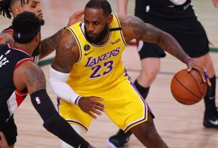پیروزی لیکرز در بازی اول فینال NBA