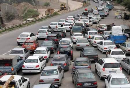 ترافیک جادههای کشور در دومین جمعه پاییزی