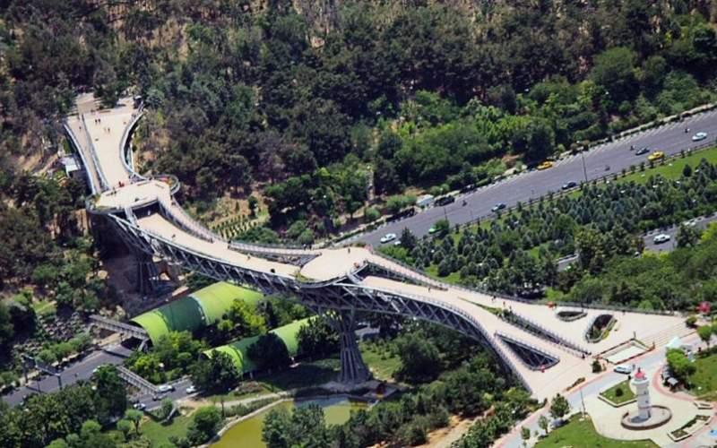 خودکشی ۱۷ نفر از روی پل «طبیعت» تهران