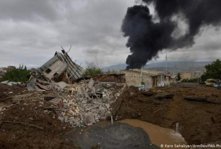 شدت گرفتن تبادل آتش سنگین در  قرهباغ