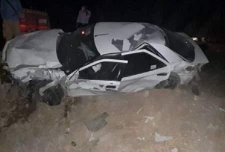 ۱۱کشته در تصادف وانت و خودروی اتباع بیگانه
