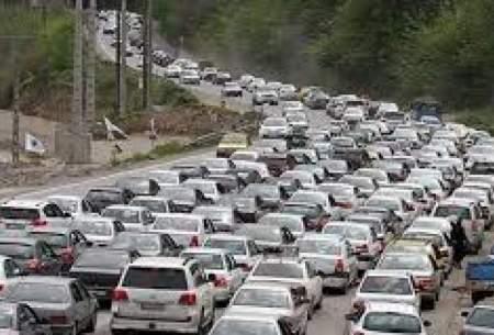 ترافیک نیمهسنگین در محورهای شمال کشور