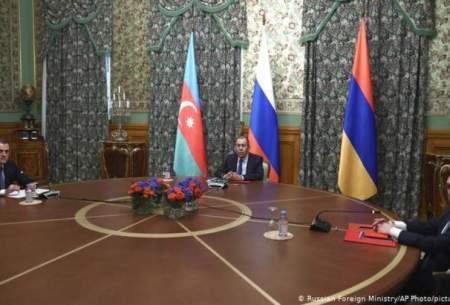 توافق آذربایجان و ارمنستان بر سر آتشبس در قرهباغ