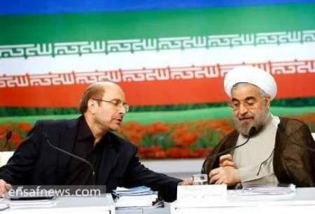 پینگپنگ سیاسی بین روحانی و قالیباف