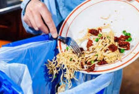 ۳۰ درصد غذای ایرانی ها ضایعات می شود