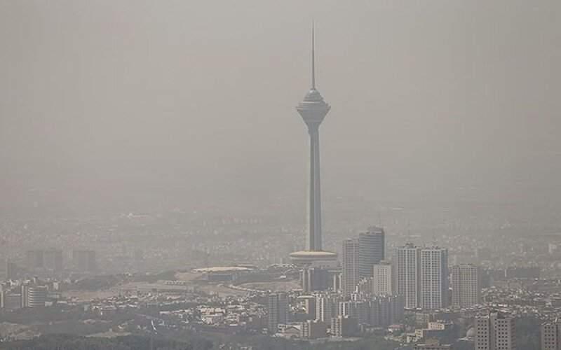 جولان آلودگی هوا در شرایط قرمز کرونا در پایتخت