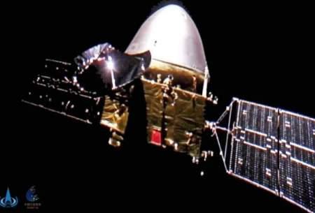 سلفی کاوشگر مریخی تیان ون-۱ در اعماق فضا