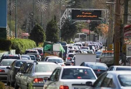 کاهش سفرهای مردم در هفتههای گذشته
