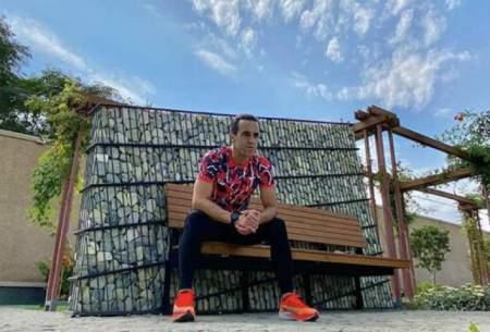 استوری کنایهآمیز علی کریمی/عکس