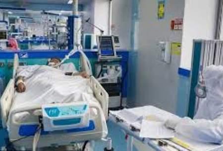 افزایش بستری بیماران مبتلا به کرونا در قزوین