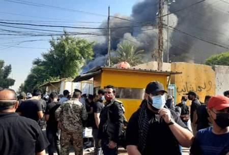 جزییات آتشزدن دفتر یکحزب توسط حشدالشعبی