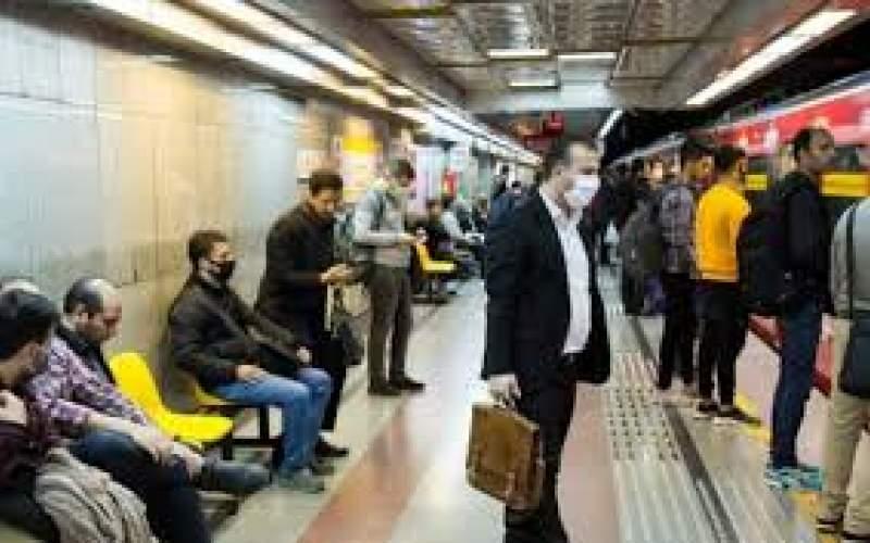 کاهش ۱۰۰هزار نفری مسافران متروی تهران
