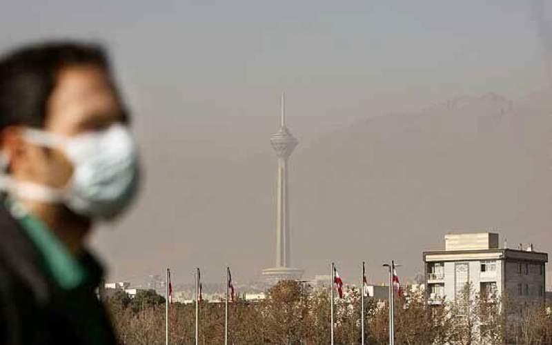 افزایش غلظت ذرات معلق در هوای تهران
