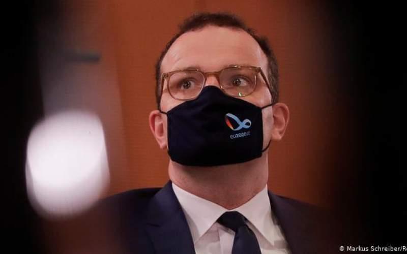 قرعه كرونا به نام وزیر بهداشت و درمان آلمان