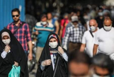 تهیه نقشه ردیابی بیماران کرونایی استان تهران