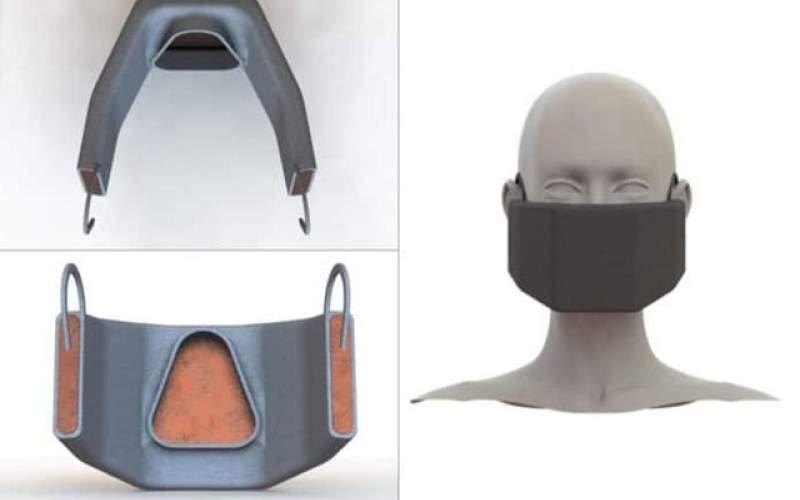 ماسکی که با ایجاد گرما کرونا را غیرفعال میکند