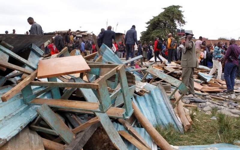 مرگ ۱۸ تن در حادثه ریزش ساختمان در غنا