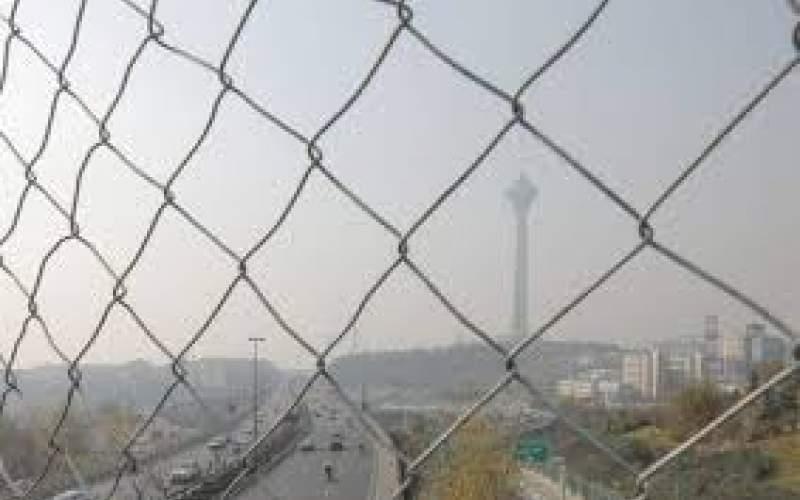 هوای تهران باز هم در شرایط ناسالم قرار گرفت