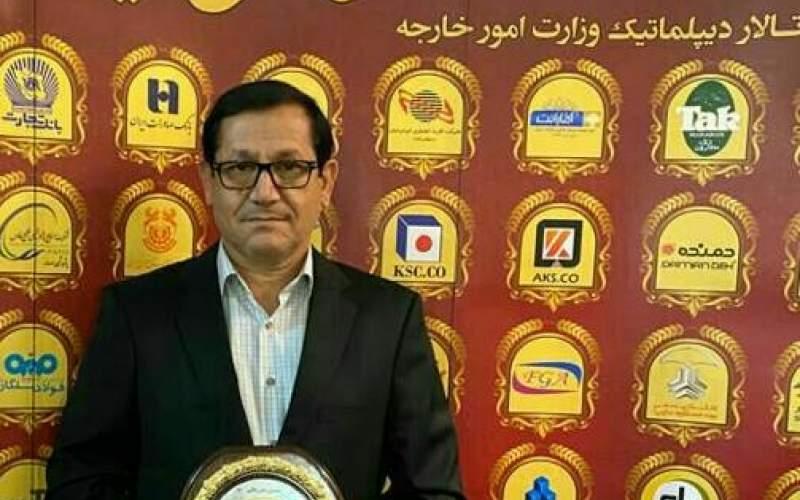 شرکت فولاد آتیه خاورمیانه افتخارآفرینی کرد