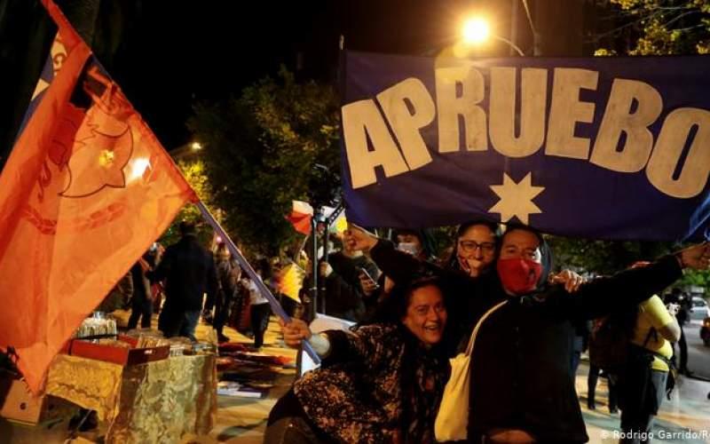 رای مردم شیلی به تغییر قانون اساسی پینوشه