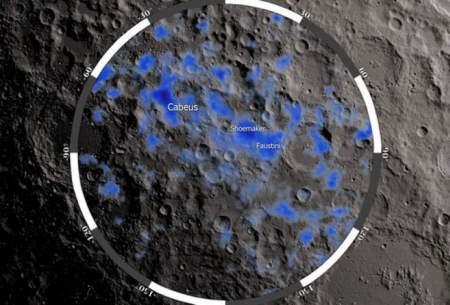 ناسا در ماه آب پیدا کرد