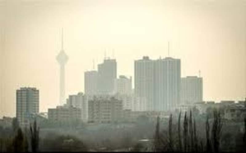 هوای پایتخت برای سومین روز پیاپی آلوده شد