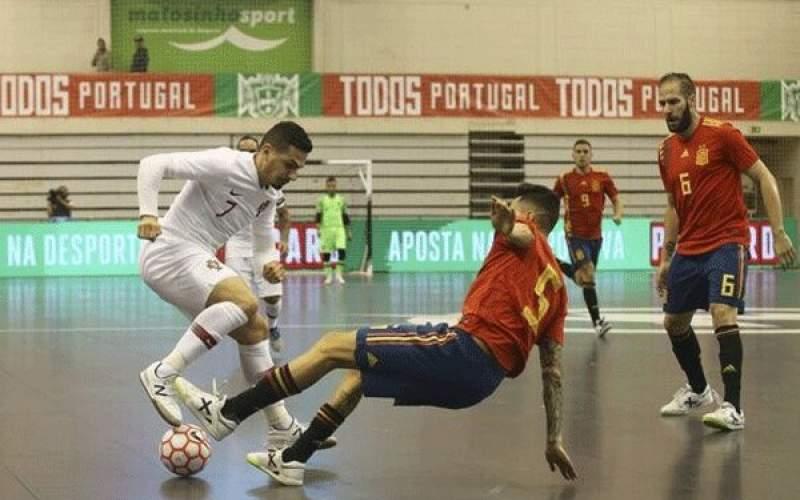 تیم ملی فوتسال اسپانیا به مصاف برزیل میرود