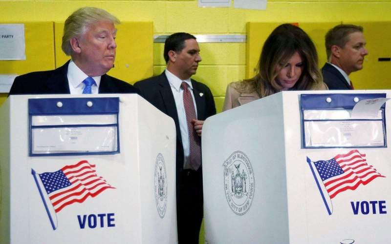 کمپین گسترده ترامپ در سه ایالت کلیدی