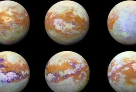 کشف مولکول عجیب در جو قمر تایتان