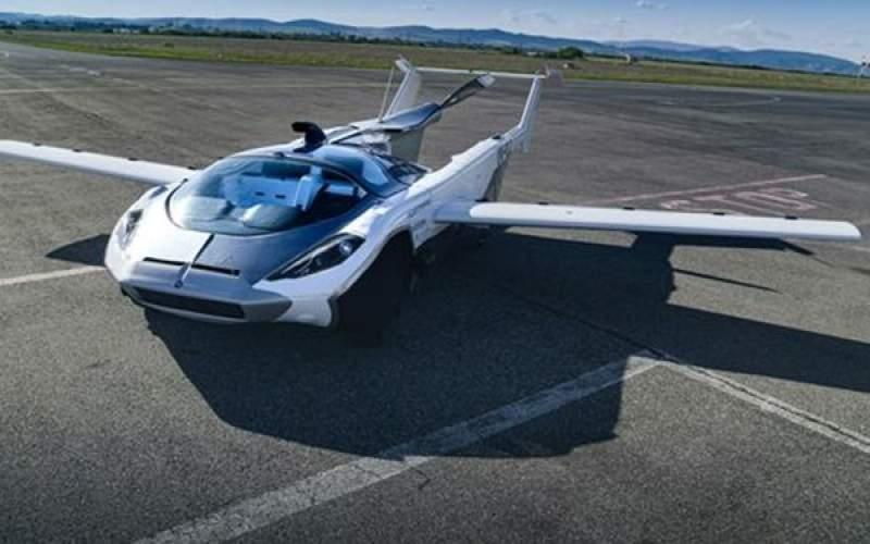 خودرویی که در کمتر از 3 دقیقه هواپیما میشود