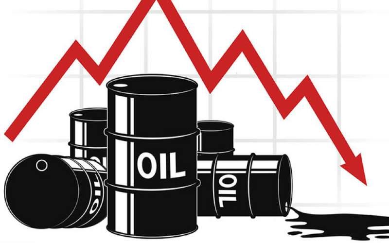سقوط ماهانه سنگین قیمت نفت